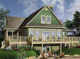 house plans with daylight basement top 10 best selling lake house plans 2 will make you jealous