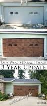 best 25 faux wood garage door diy ideas that you will like on