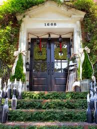 Pillars Decoration In Homes by 19 Outdoor Christmas Decorating Ideas Hgtv