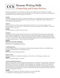 Doc 12751650 Good Objective For Resumes Template - resume exle skills list of for sle great objective statements