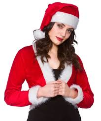 christmas costumes santa suits mrs claus and elves