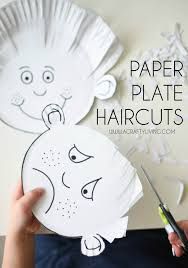 paper plate haircuts for toddlers u0026 preschoolers www