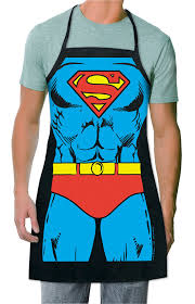 Men Cooking Aprons Amazon Com Icup Dc Comics Superman The Man Of Steel Be The