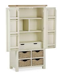 daymer painted larder unit off white kitchen larder kitchen