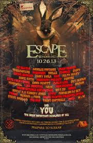 escape from wonderland 2013 san bernadino ca tickets