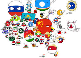 World Map Of Asia by Polandball Map Explained Asia Album On Imgur