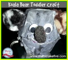koala kids easy egg carton craft