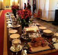 turkey mac n cheese ham more the obamas delicious thanksgiving