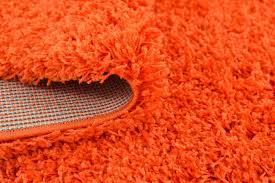 Orange Modern Rug by Orange Rug Shaggy Wram Soft Carpet Fluffy Modern Rugs Contemporary