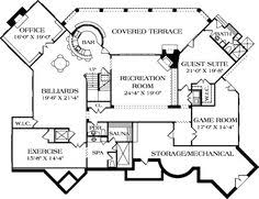 House Plans With Game Room Plan 31028d Second Floor Game Room Game Rooms House Remodeling