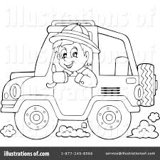 yellow jeep clipart jeep clipart 1244586 illustration by visekart