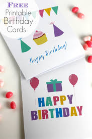 free birthday cards free printable blank birthday cards catch my party