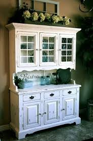 Decorating The Top Of Kitchen Cabinets Best 25 White Distressed Cabinets Ideas On Pinterest Country