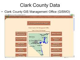 clark county gis maps cee 795 water resources modeling and gis learning objectives list