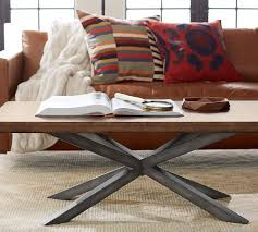 big coffee table jax big daddy coffee table pottery barn