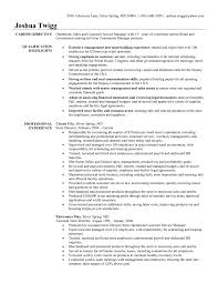 Retail Store Manager Resume Example Liquor Store Manager Resume Samples