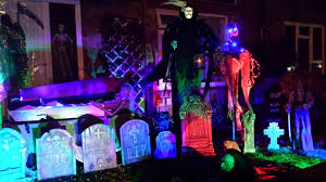 halloween yard lighting halloween 2014 yard haunt album on imgur