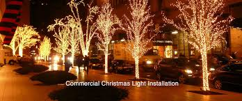 Commercial Christmas Decoration Rentals by Long Island Christmas Light Installation