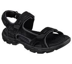 Gander by Shop 77 Off Skechers Sandals Fit Gander Alec Black Men Skechers