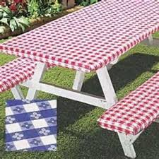 Patio Table Cover Rectangle by Vinyl Tablecloths For Picnic Tables Outdoor Patio Tables Ideas