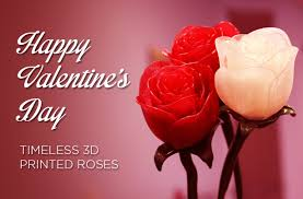 roses for valentines day 3ders org go geeky this s day with 3d printed roses 3d