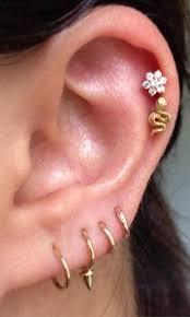 ear piercing studs these 30 ear piercing ideas mybodiart