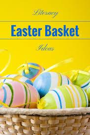 literacy inspired easter basket ideas