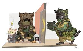 kapkan and fuze cat rainbow6