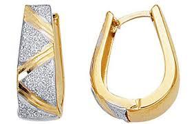 Gold Name Earrings Earrings 14k Gold Earrings Hoops Awful 14k White Gold Hoop