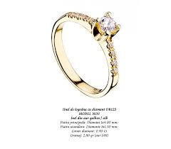 inel diamant inel de logodna cu diamant dro125 atlantis gold