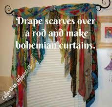 Scarf Curtains