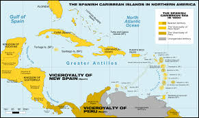 Map Of The Caribbean by Political Map Of Central America And The Caribbean Nations Maps