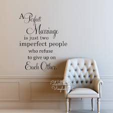aliexpress com buy perfect marriage quote vinyl wall decals
