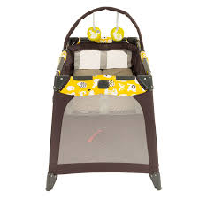 Pink And Brown Graco Pack N Play With Changing Table Graco Pack N Play Playard Nimble Nook Brown Lime