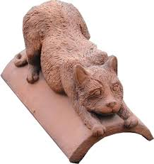 cat ridge finials and ornamental ridge tiles for roofs
