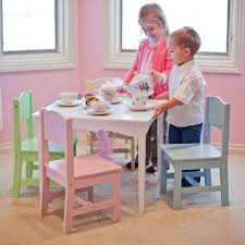 Kidkraft Lounge Set by Kidkraft Nantucket Pastel Table And Chair Set Childrens Table