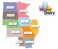 Blank Map Of Midwest States by Midwest Dairy Charting A Path Forward Dairy Herd Management