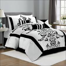 Plain White Comforters Bedroom Magnificent Black Twin Comforter Set Black And White