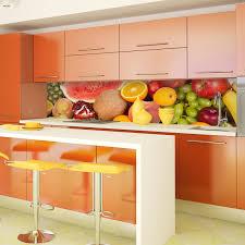 Kitchen Splashback Tiles Ideas New York Skyline Day Acrylic Kitchen Splashback Enhance Your