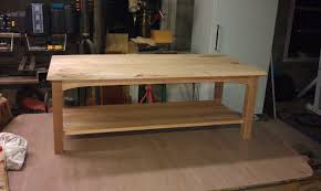 Cherry Coffee Table White Maple Cherry Coffee Table Diy Projects