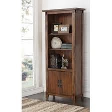 Bookcase Cabinet With Doors Bookcases With Doors You Ll Wayfair