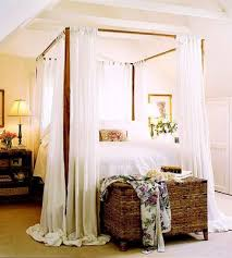 Curtains For Canopy Bed Wonderful Canopy Bed Curtains Scalisi Architects Throughout Beds