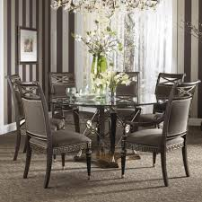 60 Round Dining Room Table Dining Tables Round Dining Table For 6 With Leaf 7 Piece Round