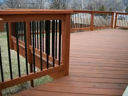 Deck Handrail Wood Decks