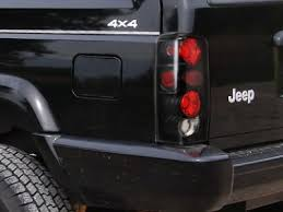jeep cherokee lights jeep cherokee 1997 2001 black custom tail lights a1320g8x245