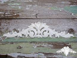 chic mouldings shabby decorative furniture appliques extra large