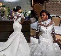 south wedding dresses south africa high neck lace mermaid wedding dresses 2018 crystals