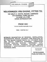 russek publications vw vehicle workshop manuals