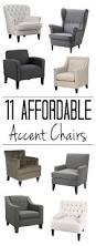 Brown Leather Accent Chair Set Of 2 Best 25 Accent Chairs Ideas On Pinterest Chairs For Living Room
