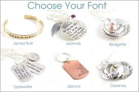 childrens name necklace personalized necklace with children s names on stacked
